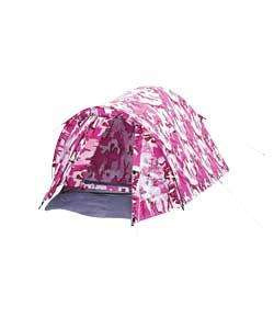 Royal Phoenix 2 Man Tent In Pink Camo - Was £61.27 Now £22.83 *Reserve & Collect* @ Argos