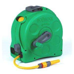 Hozelock 2-in-1 Compact Enclosed Reel (with 25 Metre Hose and Connectors) £34.58 @  amazon