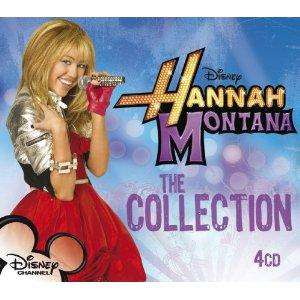 Hannah Montana 4disc boxset The Collection cd's now £3.47 delivered @ amazon