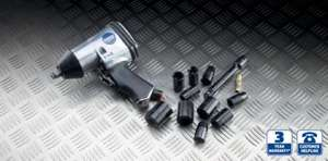 Air Impact Wrench & Kit - £12.99 @ Aldi