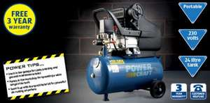 2.5HP Air Compressor - £79.99 @ Aldi