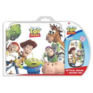 Toy Story Mouse Mat & Mouse - £4.97 *Instore* @ Tesco