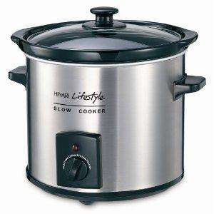 Hinari SC395SS Lifestyle 3.5 L Slow Cooker now £12.24 delivered @ amazon