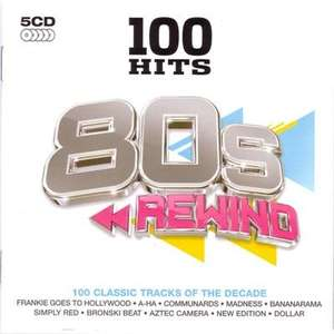 100 Hits - 80s Rewind (5CD) £5 @ Play
