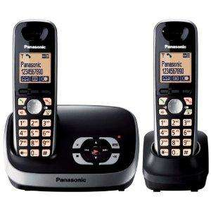 Panasonic KX-TG6522EB TWIN DECT Cordless Telephone + Answerphone £31.60 @ Amazon