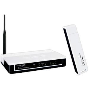 TP-LINK 54Mbps 2.4GHz Wireless ADSL2+ Modem Router & 54Mbps USB Adapter - £19.99 Delivered @ 7 Day Shop