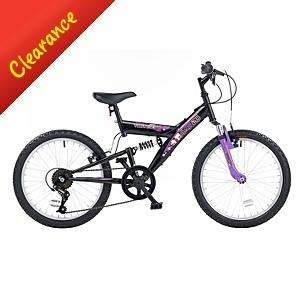 Girls Townsend Dual 20in Wheel Dual Suspension Bike Was £70 Now £35 + £18.95 delivery at Asda Direct