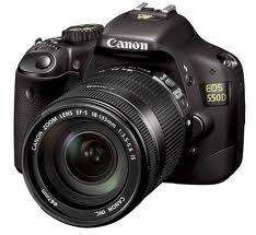 Canon EOS 550D - 18-55mm IS Lens Kit With 5 Year Warranty - £564.99 Delivered @ Camerabox