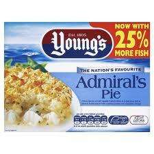 Youngs Admirals pie half price 63p @ morrisons