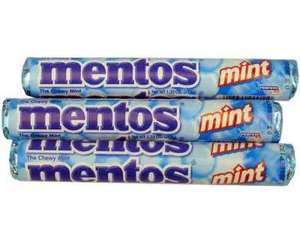 Five Pack of Mentos Mints Only 62p at Morrisons