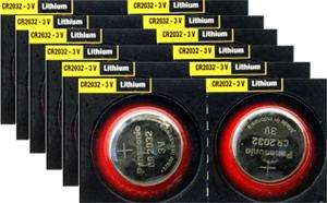 Panasonic 3V CR2032 Lithium Batteries - 12 Pack - £2.89 Delivered @ 7 Day Shop