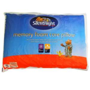 SILENTNIGHT MEMORY FOAM PILLOW £9.99. Delivered. RRP £49.99. Ebay Deal of The Day