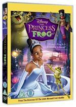 Disneys The Princess And The Frog (DVD) - £6.99 @ Base