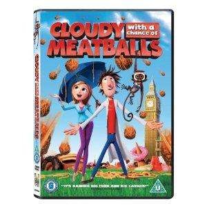 Cloudy With A Chance of Meatballs (DVD) - £3.99 @ Amazon & Tesco Entertainment