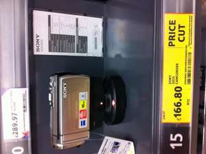 Sony SX53 - 16GB HDD & SD Card Camcorder - £166.80 *Instore* @ Tesco