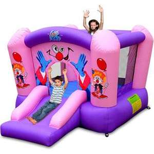 Pink Clown Bouncer - Was £349.99 Now £99.99 @  TJ Hughes