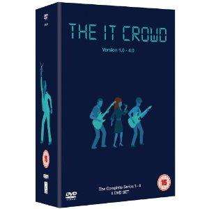 The IT Crowd - Complete Series 1-4 Box Set @Amazon