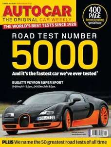 6 Issues of Autocar For £1 @ Let's Subscribe
