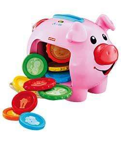 Fisher Price Laugh & Learn Piggy Bank - Was £16.99 Now £7.99 *Reserve & Collect* @ Argos