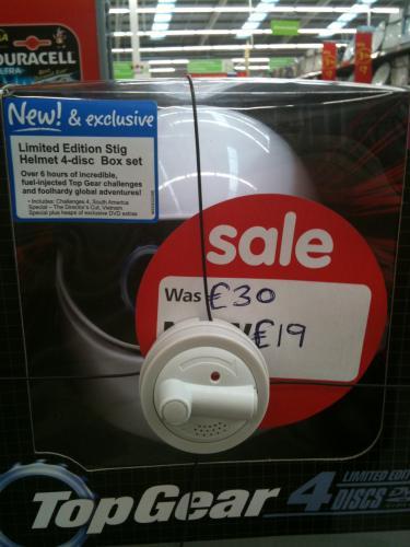 Top Gear Challenges: Limited Edition (DVD) (Stig Helmet) (4 Disc) - £19.99 Instore @ Asda