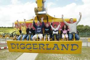 Diggerland tickets for £8.50 @ Likebees