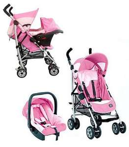 Graco Century Travel System - Chloe - Pink - £59.99 Delivered @ Kiddicare