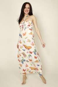 Butterfly Chiffon Maxi Dress £8.95 delivered @ Everything5pounds.com - sells for £22.99 elsewhere