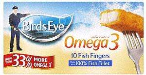 Birds Eye Fish Fingers with Omega 3 was £1.99 now 99p @ Sainsburys