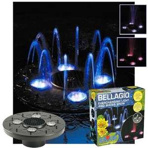 Bellagio Illuminated Floating Fountain - £19.99 + £4.99 Postage @ Garden and Leisure Online
