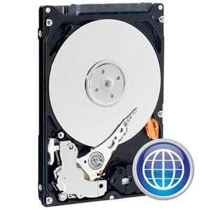 "320GB Western Digital WD3200BPVT, Scorpio Blue, 2.5"" HDD, SATA 3Gb/s, 5400rpm, 8MB Cache, 12 ms For Laptop or PS3 - £26 Delivered @ Scan"