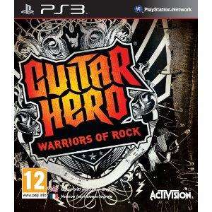 Guitar Hero Warriors of Rock For PS3 - £14.99 Delivered @ Amazon