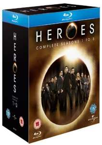 Heroes - Seasons 1-3 Blu-ray only £23.35 with code @ the hut
