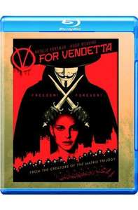 V For Vendetta [Blu-ray] [2006][Region Free] - £6.59 Delivered @ Amazon/Tesco