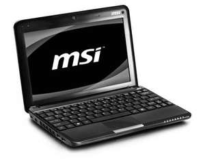 "*REFURBISHED* MSI Wind U135 10"" Netbook -160GB (Now Only Pink Available) - £129.99 Delivered @ Ebay Argos Outlet"