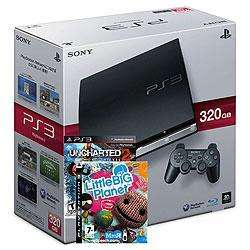 Playstation 3 (320GB) with Little Big Planet and Uncharted 2 Games £199.99 @ VIKING DIRECT