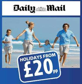Breakfree Holidays Back In The Daily Mail *Passwords In Post 8*