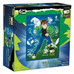 Ben 10 Jigsaw Puzzle (100 Pieces) £2.84 at Amazon or Triple Play (3 Jigsaw Set) £4.14 - thanks to daddytsang