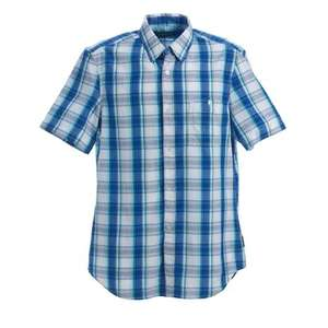 French Connection / Men's / Glacier (Blue - S/S Check Shirt) £39.99 down to £17.99 @ Play