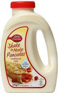 Betty Crocker Shake to Make Pancake Mix (155g) now 50p at Asda