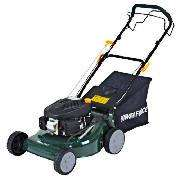 self propelled petrol lawn mower@tesco direct.£128.