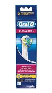Braun Oral-B EB25-4 Floss Action Replacement Rechargeable Toothbrush Heads 4-Pack £7.99 @ Amazon