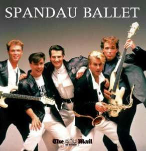 Free Spandau Ballet  12 Track CD with Todays Mail  on Sunday