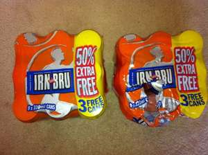 IRN BRU 9 Pack, two for £5 at Tesco