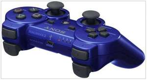 Sony PS3 Official DualShock 3 Wireless Controller In Blue - £34.85 Delivered @ Simply Games