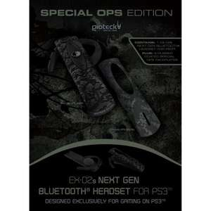 EX-02s Bluetooth Headset: Special Ops - Limited Edition For PS3 - £12 Delivered @ Amazon