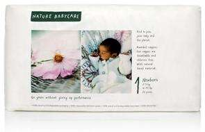 Free Nature Babycare Nappies Sample In Size 1 @ Naty