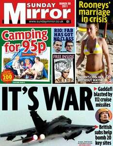 Sunday newspaper offers - see post - Mirror/ Express/ People/ Telegraph/ NOTW/ Mail/ Star