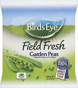 Birds eye frozen peas 2 x 480g for £1.49 @ Tesco Buy one get one free offer
