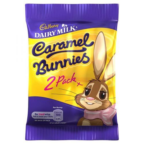 2 Pack Cadbury Caramel Bunnies x 3 for £1 @ Tesco