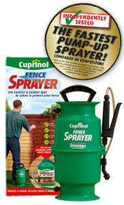Cuprinol Fence Sprayer.  £ 12.49 Argos